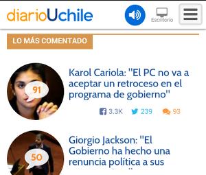 diario y radio uchile 2015
